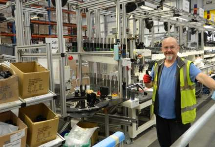 Herman Miller si noul concept de spatii de birouri: Living Office. Cum se lucreaza in fabrica denumita Portal Mill a companiei din Marea Britanie