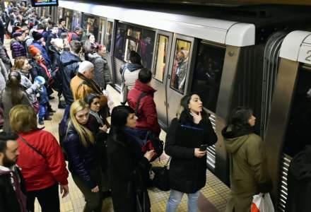 Sindicalistii de la metrou anunta o noua posibila greva in luna decembrie daca nu primesc majorarile salariale