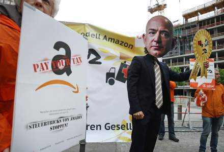 Protest de amploare al angajatilor Amazon, chiar inainte de Black Friday