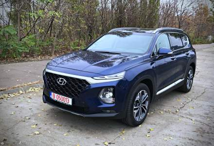Test drive cu a 4-a generatie Hyundai Santa Fe: un SUV XL cu sisteme moderne de asistenta