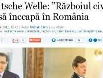 """Deutsche Welle: """"Razboiul..."""