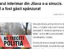 Primarul interimar din Jilava...