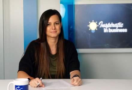 Andreea Durbac, manager vanzari rezidential la Tiriac Imobiliare, la Inspiratie in Business