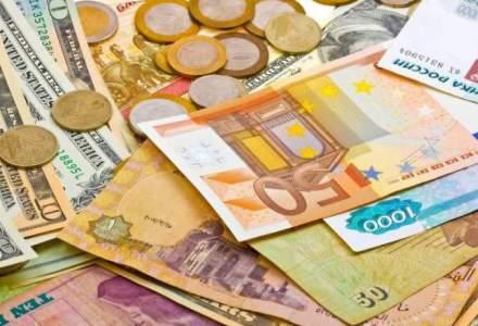 Curs valutar BNR astazi, 28 noiembrie: leul se apreciaza in raport cu euro, dar scade fata de dolar