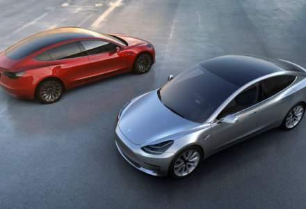 Tesla Model 3 poate fi comandat in principalele tari europene: autonomie de 544 kilometri. Livrarile incep in februarie