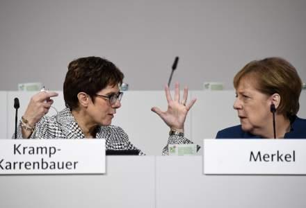 Membrii partidului Uniunea Crestin-Democrata din Germania se reunesc pentru a alege succesorul Angelei Merkel