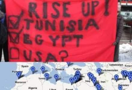 Harta interactiva a protestelor musulmane din intreaga lume