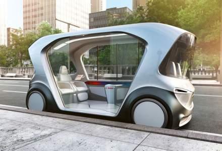 Solutie germana pentru transportul urban: Bosch a dezvoltat conceptul unui shuttle electric si autonom