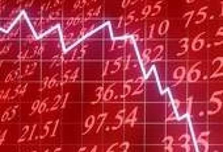 Bursa de la Bucuresti, o noua zi pe rosu