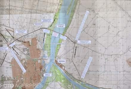Ministerul Transporturilor a emis autorizatia pentru lucrarile la podul suspendat peste Dunare de la Braila