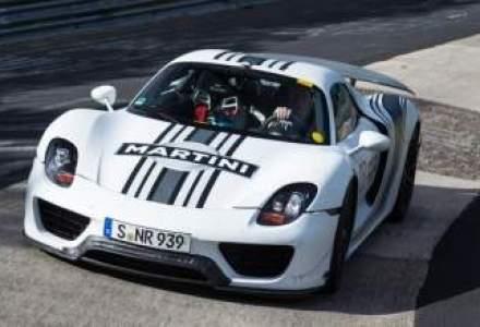 Prototipul Porsche 918 Spyder a stabilit un nou record la Nurburgring