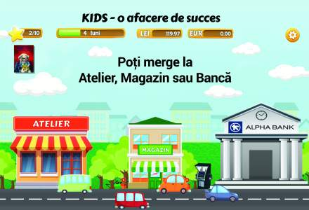 Prima aplicatie de educatie financiara destinata copiilor, omologata de Ministerul Educatiei