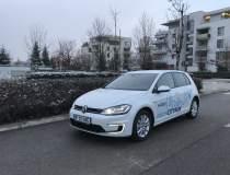 Test cu VW e-Golf facelift:...