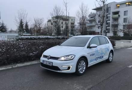Test drive cu Volkswagen e-Golf facelift: autonomia scade puternic iarna, la zero grade