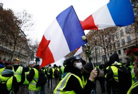 """""""Vestele galbene"""" s-au mobilizat in numar redus in Franta, pentru o noua sambata de proteste"""