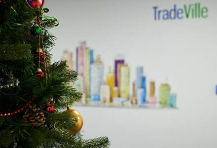 In vizita la noul sediu Tradeville: brokeraj in toiul iernii