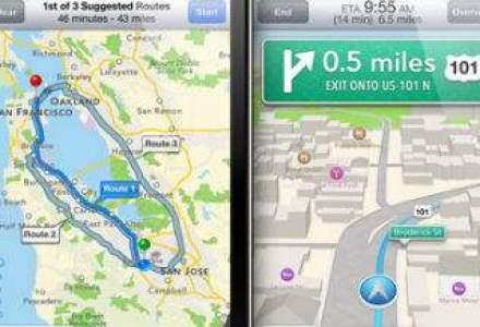 """iPhone 5 vs. Google Maps: un razboi """"al orgoliilor"""" care supara milioane de utilizatori"""