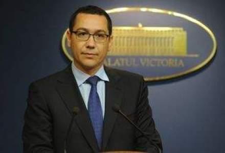 Ponta vrea sa dea banii de la licentele de telecom pentru internet wireless, agricultura si armata