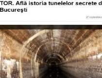 Afla istoria tunelelor...