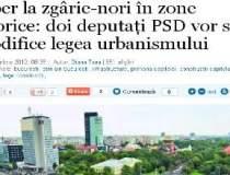 Liber la zgarie-nori in zone...
