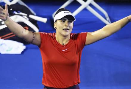 Bianca Andreescu s-a calificat in finala turneului WTA de tenis de la Auckland