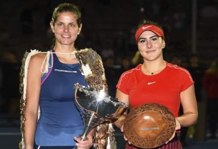 Bianca Andreescu, invinsa de Julia Goerges in finala turneului tenis de la Auckland