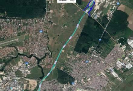Hotii au lasat noua autostrada urbana in bezna, dupa ce au furat cablurile de cupru de la reteaua electrica