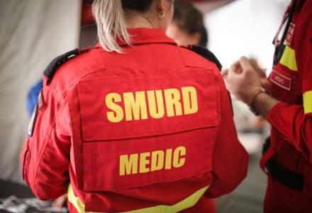 ISUBIF: Incendiu la cancelaria Scolii 77 din Bucuresti; un barbat a fost transportat la spital