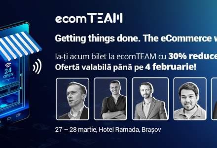 Premiera la ecomTEAM 2019: Speaker si autor de renume mondial, pentru prima oara in Romania