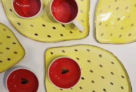 Povestea Alina Ceramics, afacerea inceputa cu 2.000 de lei, cu ceramica si portelan