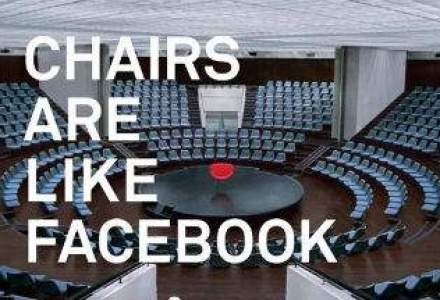 Ironia si ipocrizia din spatele reclamei Facebook: scaune, poduri, copaci vs. mediul steril electronic [VIDEO]