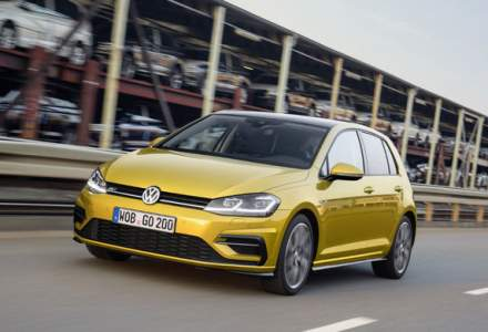 Cele mai vandute masini in Europa in 2018. VW Golf ramane pe prima pozitie, in timp ce Dacia Sandero urca pe locul al 11-lea
