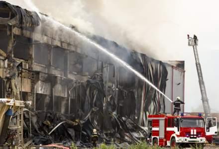 Fabrica Solina de ingrediente alimentare, din judetul Alba, distrusa intr-un incendiu era asigurata de catre Omniasig