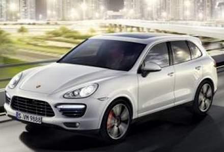 Cel mai puternic SUV Porsche, Cayenne Turbo S poate fi comandat in Romania