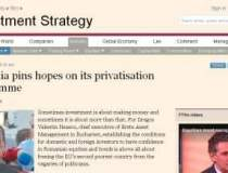 Financial Times scrie despre...