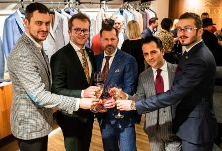 Tudor Tailor a lansat franciza internationala si a deschis primul showroom in Belgia