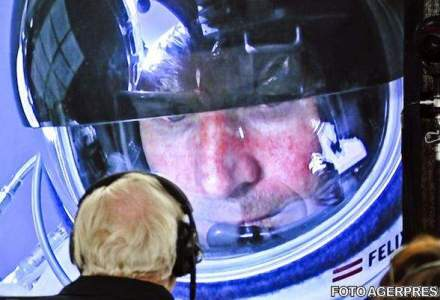 Felix Baumgartner: Atunci cand te afli pe acoperisul lumii, devii mult mai umil