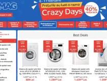 eMAG Crazy Days: reduceri la...