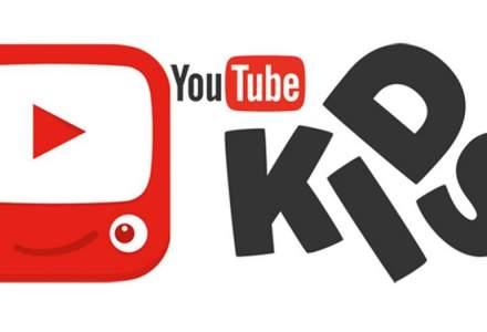 Aplicatia YouTube Kids s-a lansat in Romania