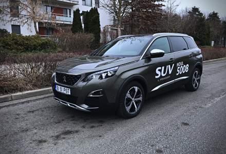 Test drive cu a doua generatie Peugeot 5008, un SUV cu 7 locuri si un interior elegant