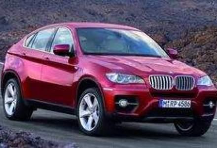 BMW X6 vine in Romania in luna iunie