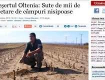 Desertul din Oltenia: Sute de...