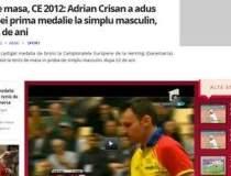 Adrian Crisan a adus Romaniei...