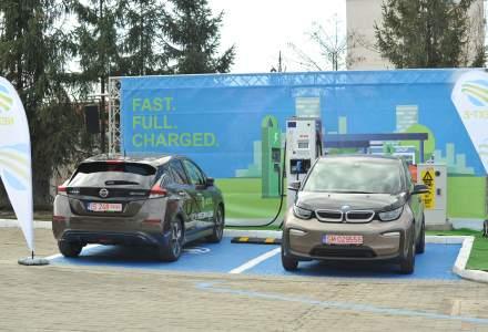 O statie de incarcare rapida a vehiculelor electrice a fost inaugurata la Iasi