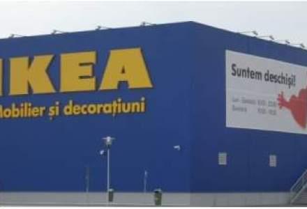 Vanzarile magazinului IKEA din Bucuresti, in crestere cu circa 11%, pana la peste 400 mil. lei