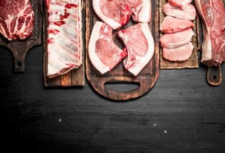 Romania, deficit de 461 milioane de euro in comertul international cu carne si preparate din carne dupa primele 11 luni din 2018