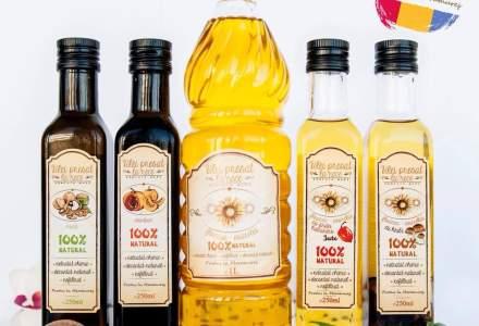 Afacere de familie in Maramures: ulei presat la rece, din seminte de la producatorii locali