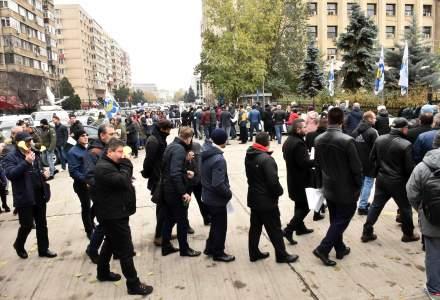 Protest al sindicalistilor de la metrou. Reactia ministrului Transporturilor