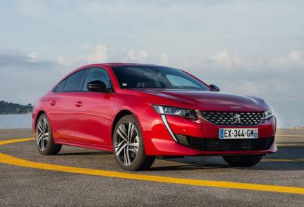 Noul Peugeot 508 este disponibil si in Romania: start de la 24.700 de euro