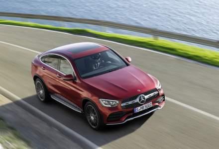 Mercedes-Benz a adus un facelift modelului GLC Coupe